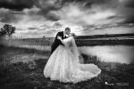 boda en blanco y negro catedral palencia