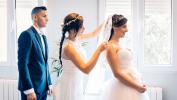 Los preparativos de una novia es todo un ritual, mas cuando la ayuda viene de los hermanos esta vez en Villamuriel de Cerrato