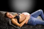 Embarazo, fotografía de estudio Palencia